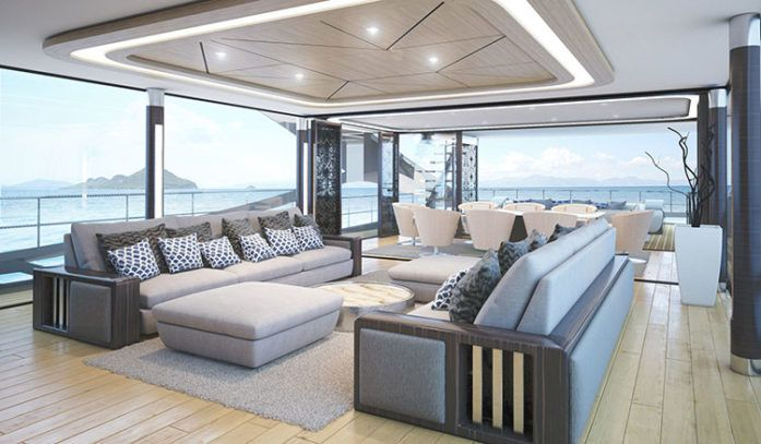 Palmer Johnson Superyachts   New Heights of Luxury   Pinterest Palmer Johnson SuperSport 36M Interior
