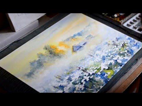 Watercolor by Igor Khaikov - YouTube