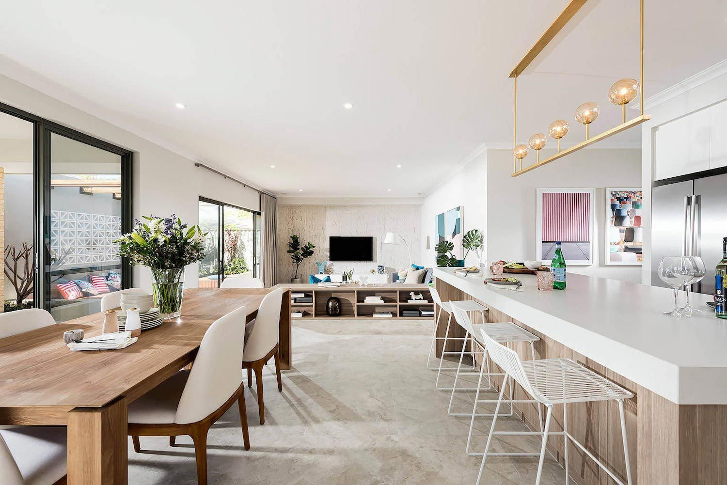 The Nelson Mid Century Modern Style Home Designed And Built By Dale Alcock  Homes