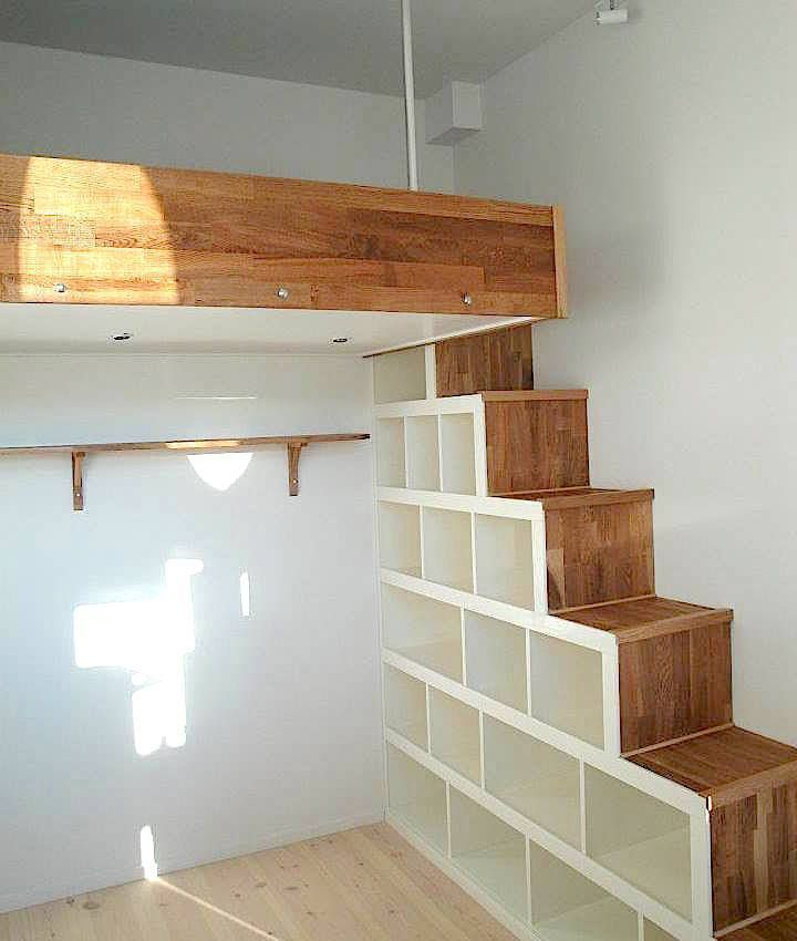 image result for mezzanine bed loft bedroom pinterest quartos quartos loft e mezanino. Black Bedroom Furniture Sets. Home Design Ideas