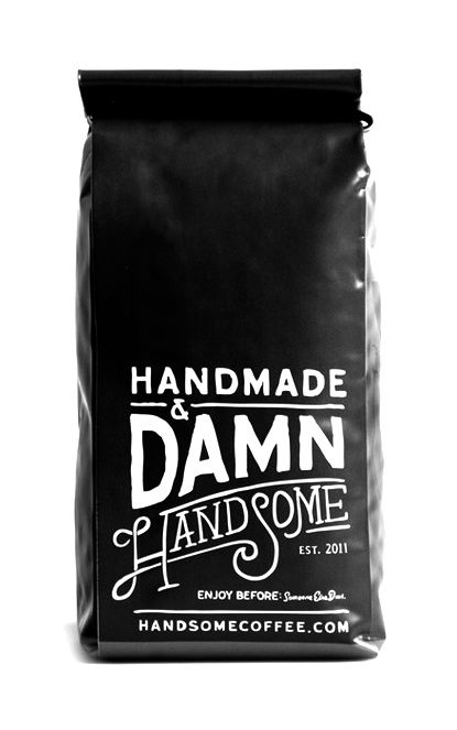 Via Freeflavour | Handmade & Damn Handsome | Package Design