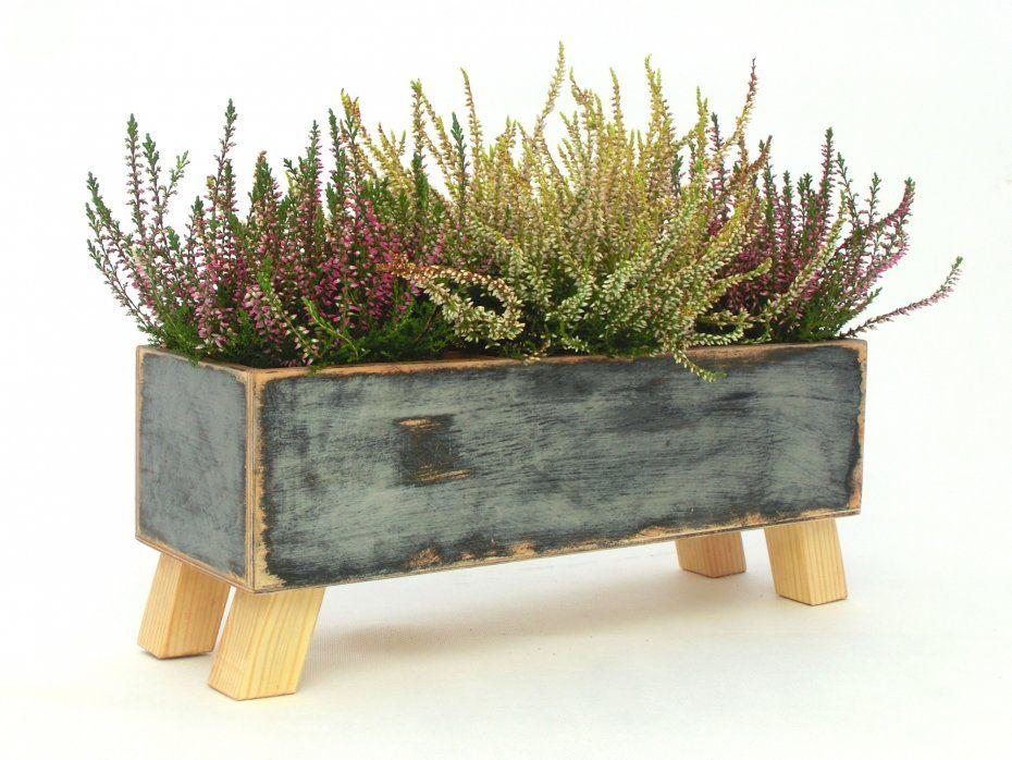 Drewniana Skrzynka Na Kwiaty Ziola Herb Planters Flower Pots Planters