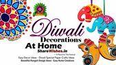 Diwali Decorations At Home Ideas  Easy Diwali Decor | ShareWishes #diwalidecora #christmas #christmastree #christmasdecor #diwalidecorations