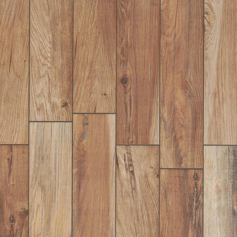 Industrial Flooring That Looks Like Wood: Tahoe Ocre Wood Plank Porcelain Tile In 2019