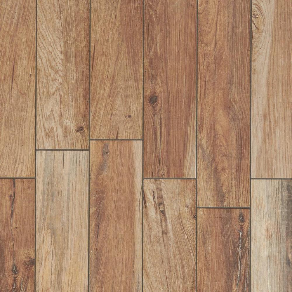 Tahoe Ocre Wood Plank Porcelain Tile Floor Decor Wood Look Tile Wood Tile Flooring
