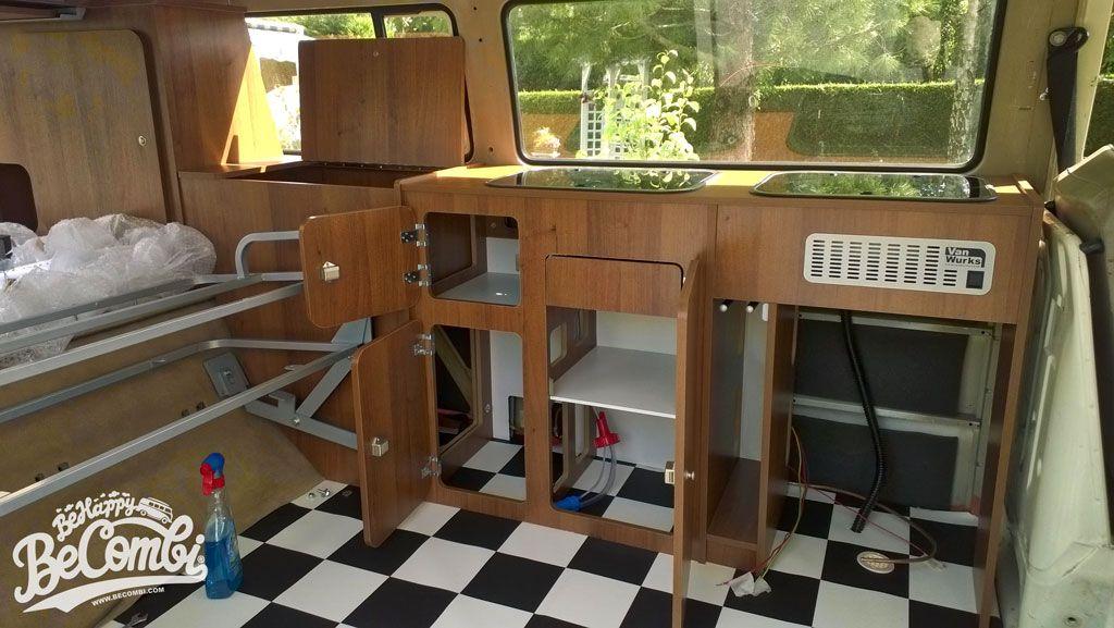 Cherie J Ai Transforme Le Combi En Camper Van Be Combi Amenagement Camping Car Camper Combi