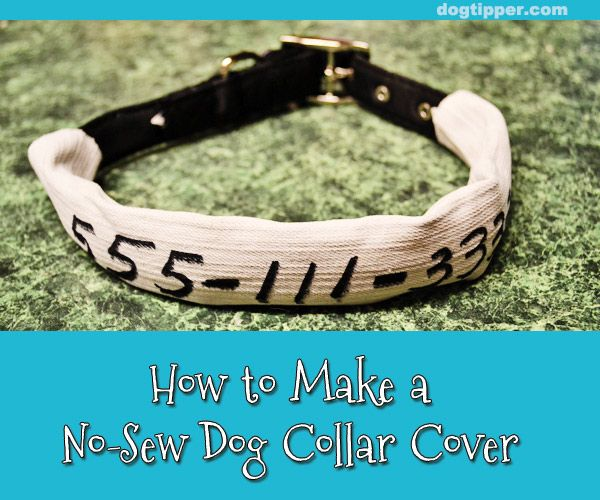 I can see where a collar cover could come in handy, both decorative and/or informational.
