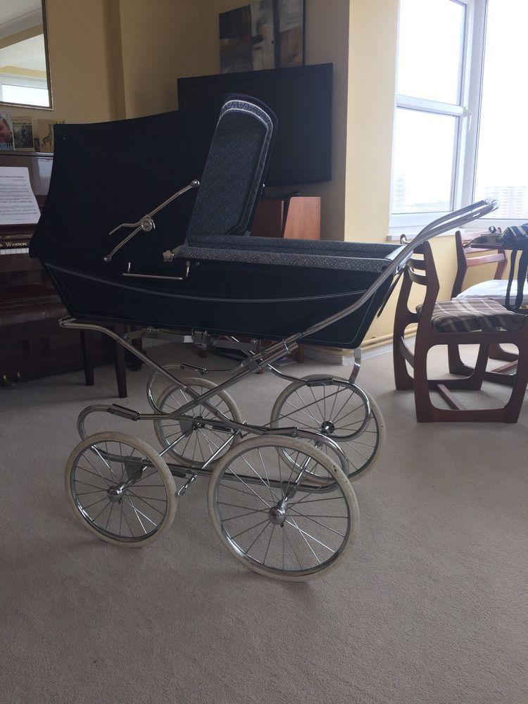 Silver cross kensington navy carriage single seat stroller