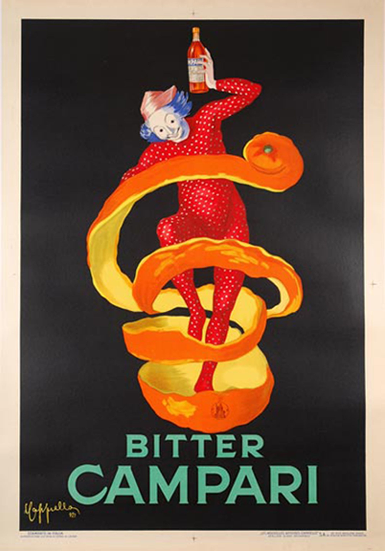 Bitter Campari Vintage Poster Art Vintage Advertising Art Vintage Posters