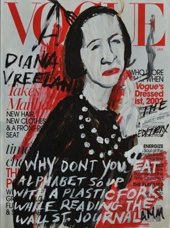 Diana Vreeland Vogue cover iilustration,Diana Vreeland,Harper's BAZAAR,VOUGE