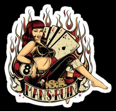 rock Shit ass tattoos punk