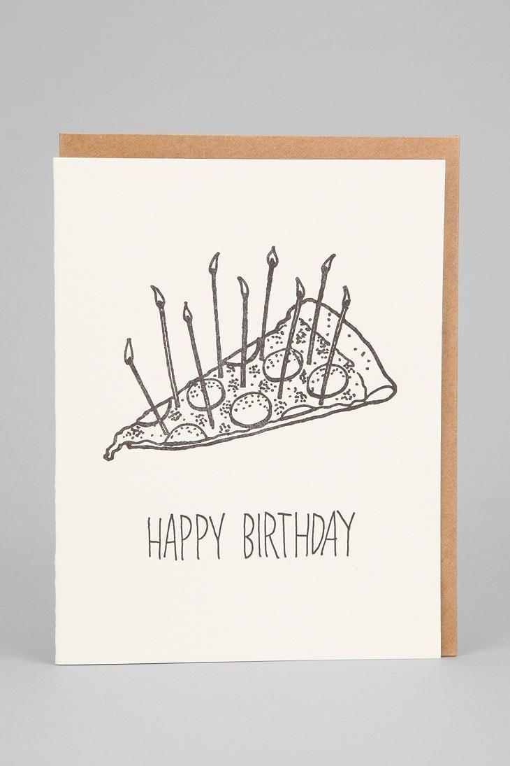 Cake Birthday Card Pizza Cake Birthday Card The post Pizza Cake ...   - Kuchen Geburtstag -