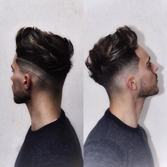 capelli uomo sfumatura bassa
