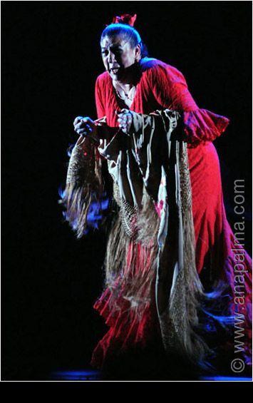 Flamenco - Fotografía Profesional Barcelona - Ana Palma TIA JUANA LA DEL PÏPA