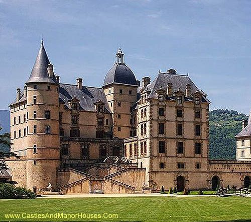 Château Of Vizille, Vizille, Isere, Rhone-Alpes, France