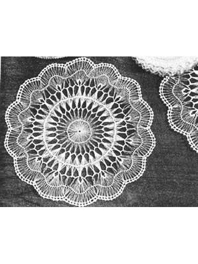 Crochet Doilies Vintage Doily Crochet Patterns Hairpin Lace