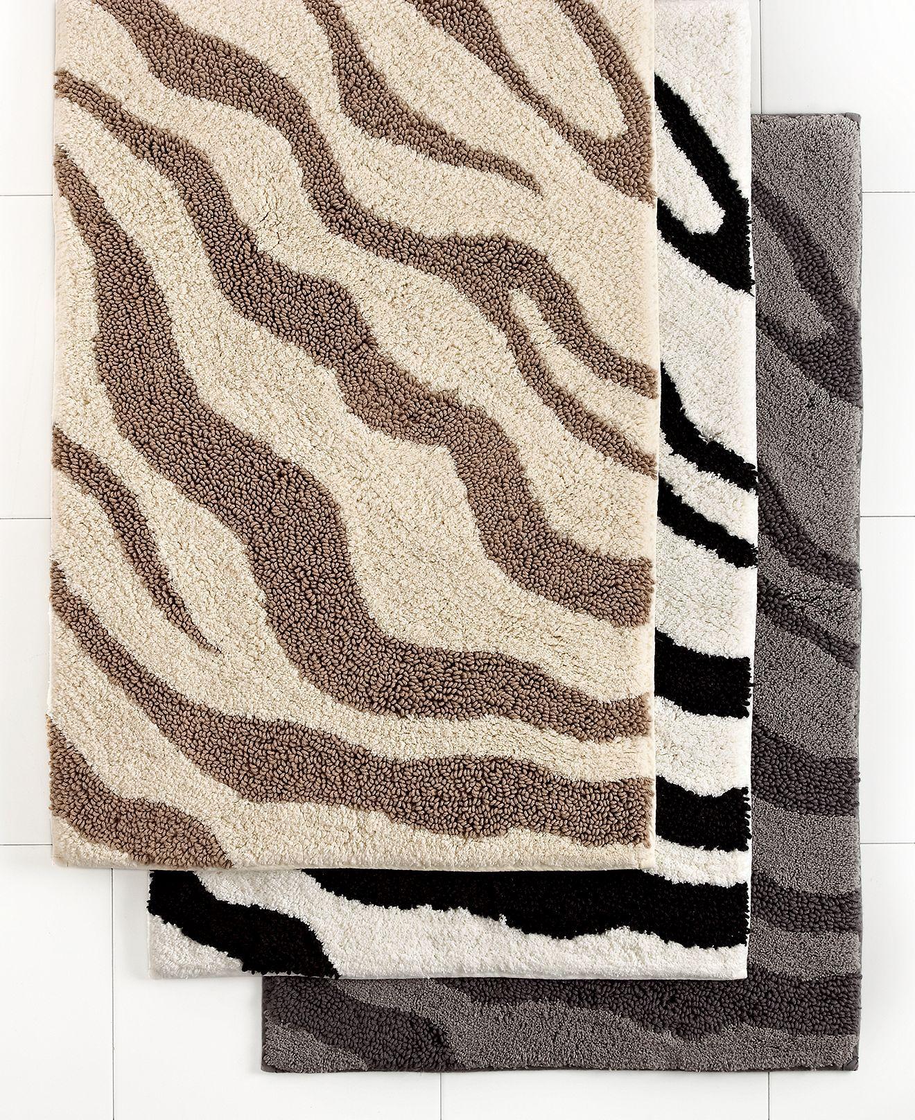 Closeout Charter Club Zebra Bath Rug Collection Reviews Bath Rugs Bath Mats Bed Bath Macy S Zebra Bath Rug Bath Rug Bath Rugs