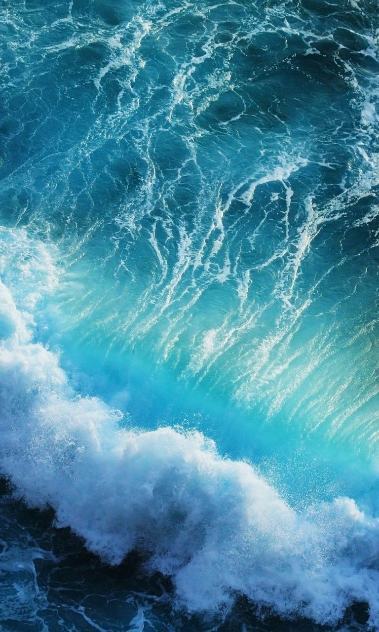 Blue Ocean Waves Wallpapers Iphone 6 Wallpaper Backgrounds Waves Wallpaper Blue Wallpaper Iphone