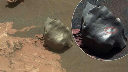 Curiosity rover da NASA descobre objeto metálico na superfície de Marte