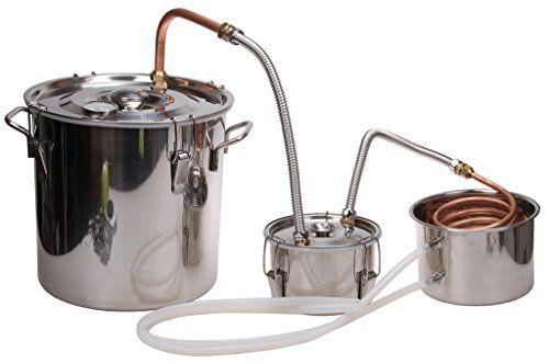 5 Gal Home Brew DistillerKMM Stainless Moonshine Alcohol ...