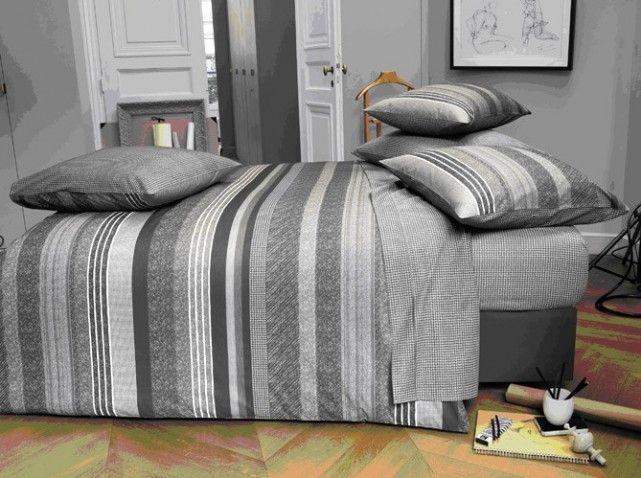 housse de couette grise imprime pied de poule id es pour la maison pinterest housse de. Black Bedroom Furniture Sets. Home Design Ideas