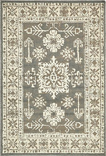 A2z Rug Esna Collection Gray 4 X 6 Feet Area Rugs Ca Https Www Amazon Com Dp B071kvl195 Ref Cm Sw R Pi Dp X Area Rugs Grey Area Rug Persian Area Rugs