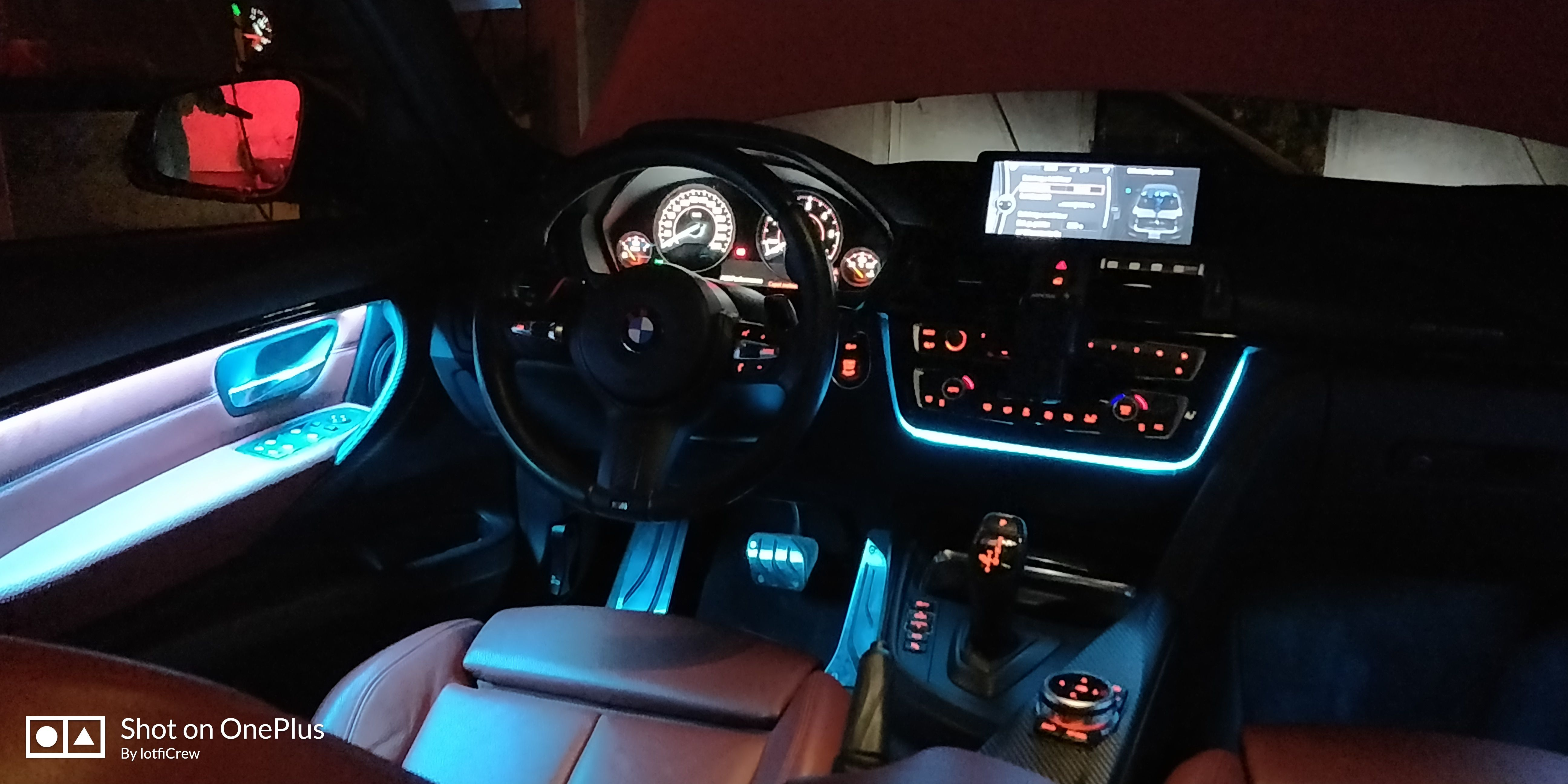 for bmw f30 f31 ambient lighting
