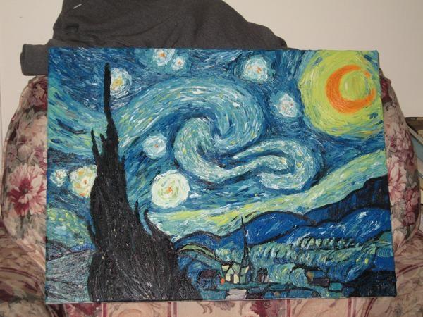 Starry Night by Gollumina.deviantart.com