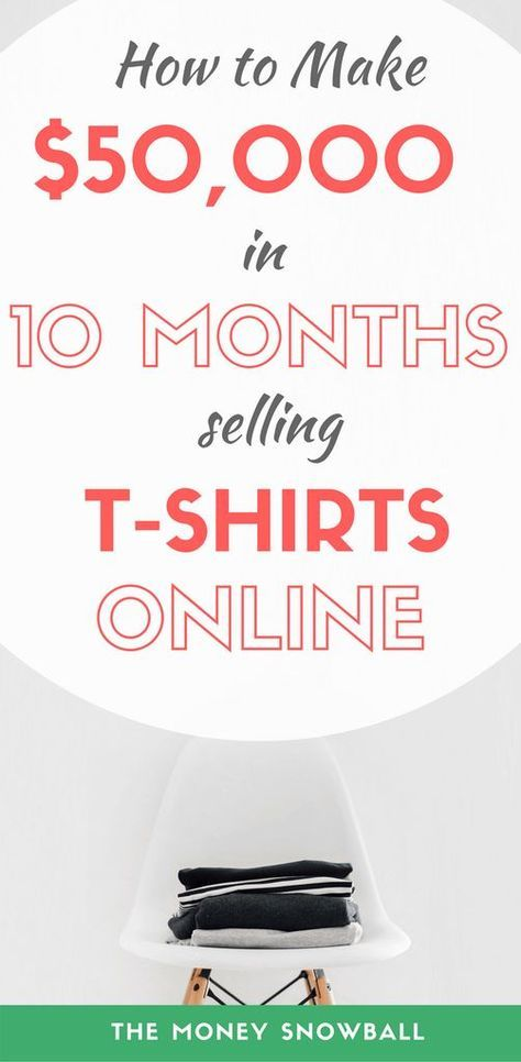 How to Sell T-Shirts Online and Make $50,000 in 10 Months ...