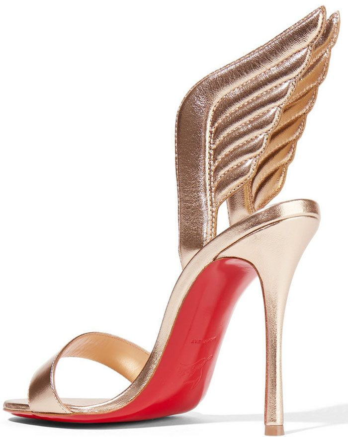 "27188ec1a1e Christian Louboutin ""Samotresse"" 120mm Wing Red Sole Sandal ..."