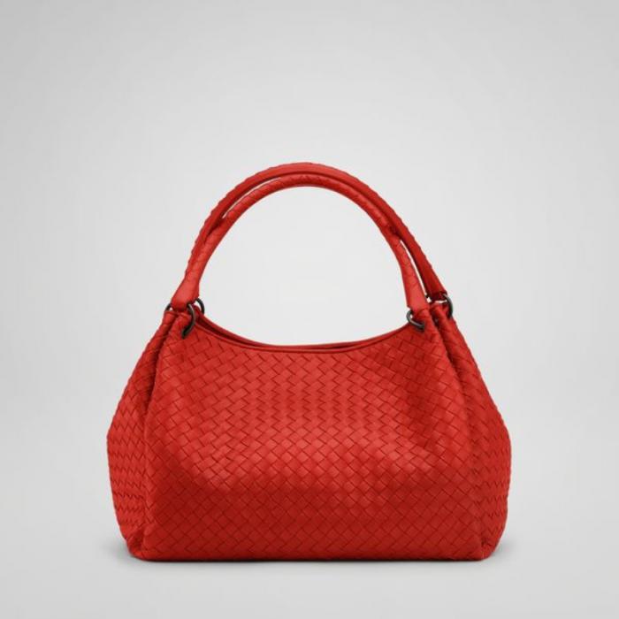 a30d4a663e88 Bottega Veneta bags and Bottega Veneta handbags Bottega Veneta Fire  Intrecciato Nappa Parachute Bag  383