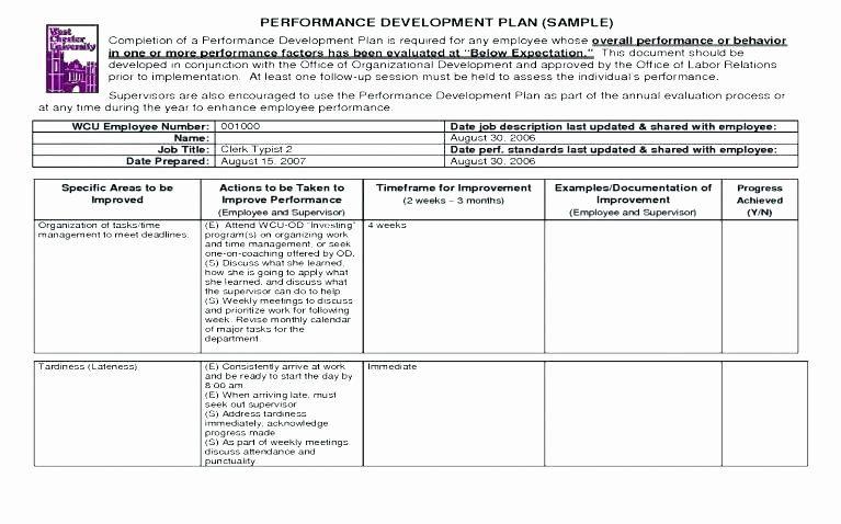 Fund Development Plan Template New Work Development Plan Template