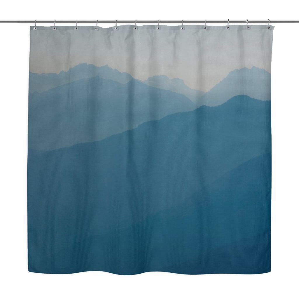 Marvelous Blue Mountains   Shower Curtain