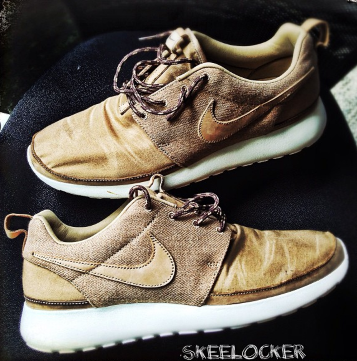 #SkeeLocker 041/365: Nike Roshe Run Premium NRG Khaki QS... Perfect for this long ass #Grammy day! A little more formal look + great comfort, see u live on the Grammy pre-show starting at 5pm EST / 2pm PST @AXStv
