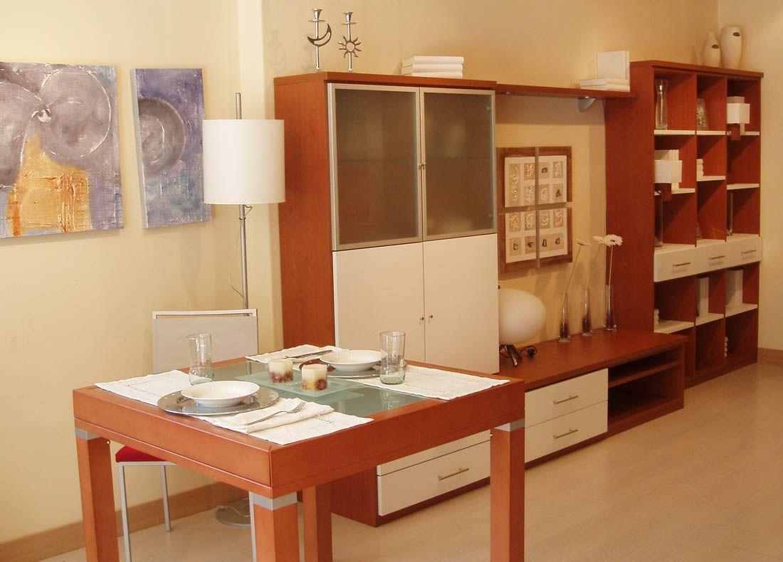 Muebles de sal n y comedor modulos para tv armarios for Armario salon