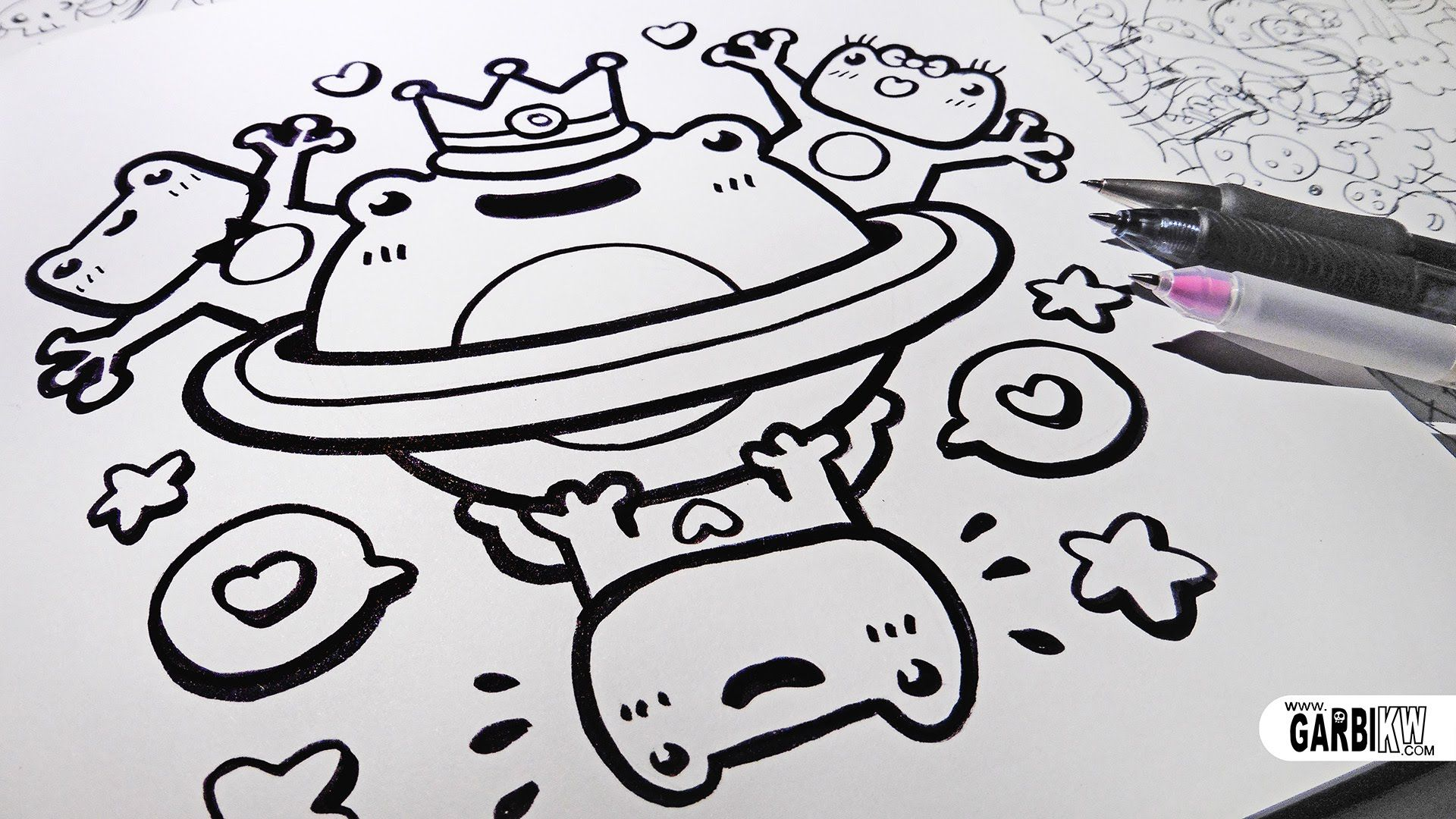 Hello Cute Doodles – Fondos de Pantalla
