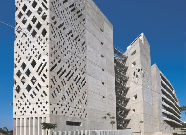 Beton Architektur Aussenfassade Fassade Fassadengestaltung