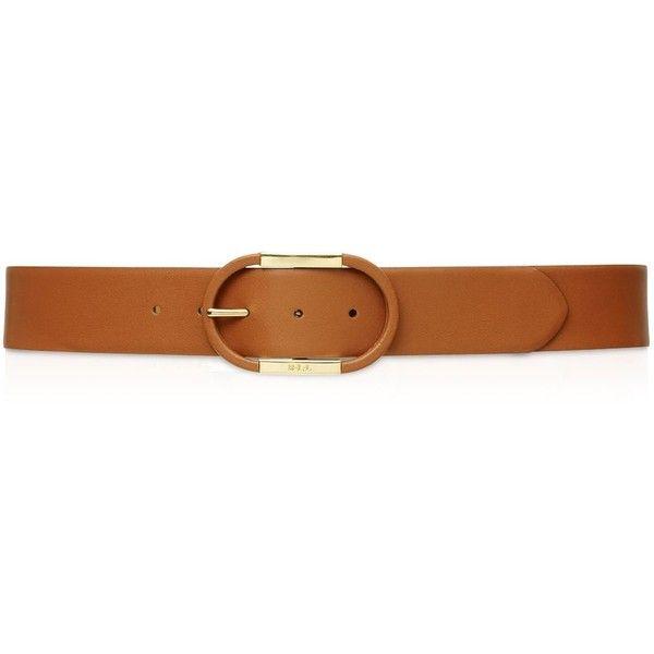 Lauren Ralph Lauren Covered Centerbar Dress Belt ($68) ❤ liked on Polyvore featuring jewelry, tan, ralph lauren, ralph lauren jewelry, buckle jewelry and metal jewelry