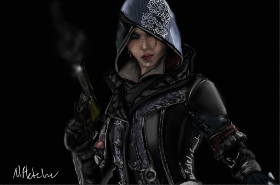 Assassin S Creed Syndicate Evie Frye Digital By Marvelassassin Dafeqil Png 924 613 Assassins Creed Assassins Creed Syndicate Assassin S Creed