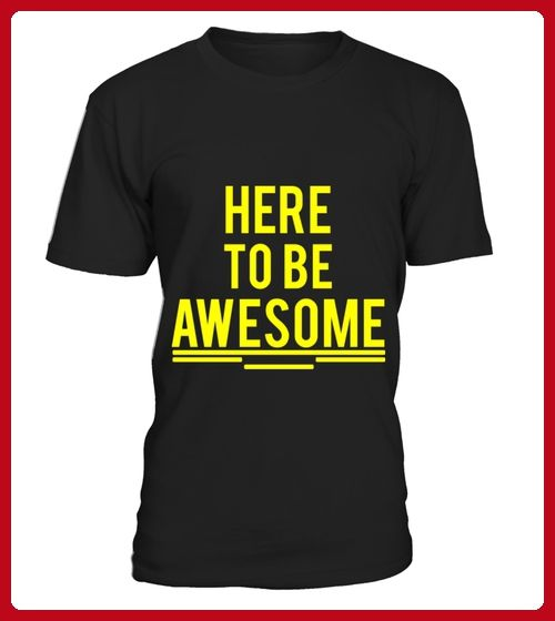 HERE TO BE AWESOME 2 gelb - Beast shirts (*Partner-Link)