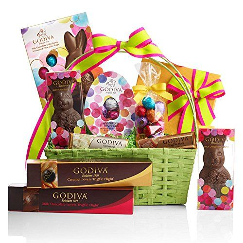 Pin by shaunte mosley on parties food and events pinterest godivas 2016 easter gifts include a gund easter bunny beaded easter egg chocolate bunnies and more negle Images
