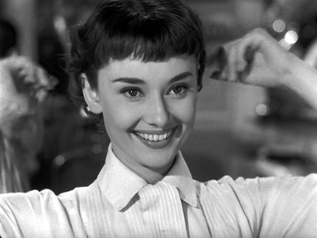 Image result for audrey hepburn short hair in roman holiday