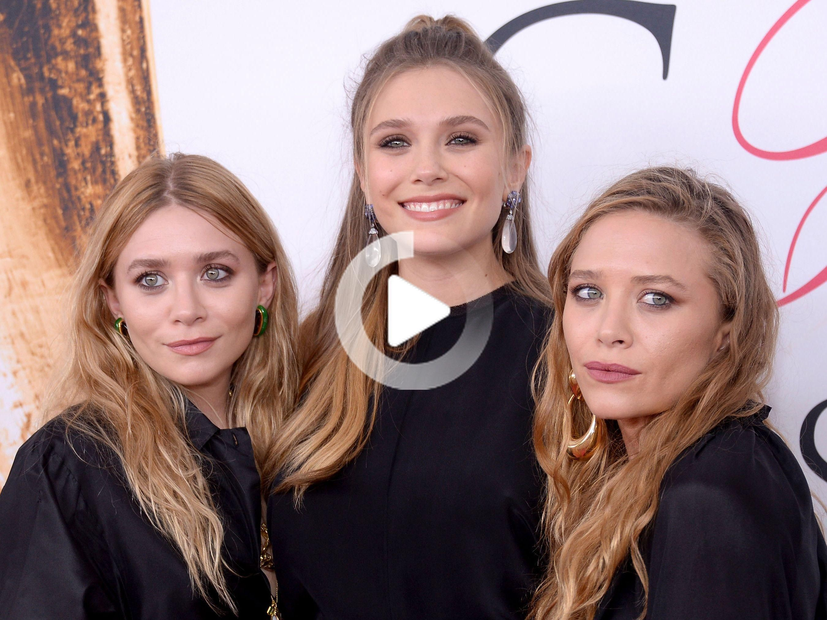 Elizabeth Olsen Explains Why Sisters Mary Kate And Ashley Don T Indulge The Media With Interviews Celebrity Dads Mary Kate Elizabeth