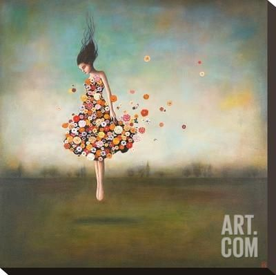 Boundlessness in Bloom Stretched Canvas Print by Duy Huynh at Art.com