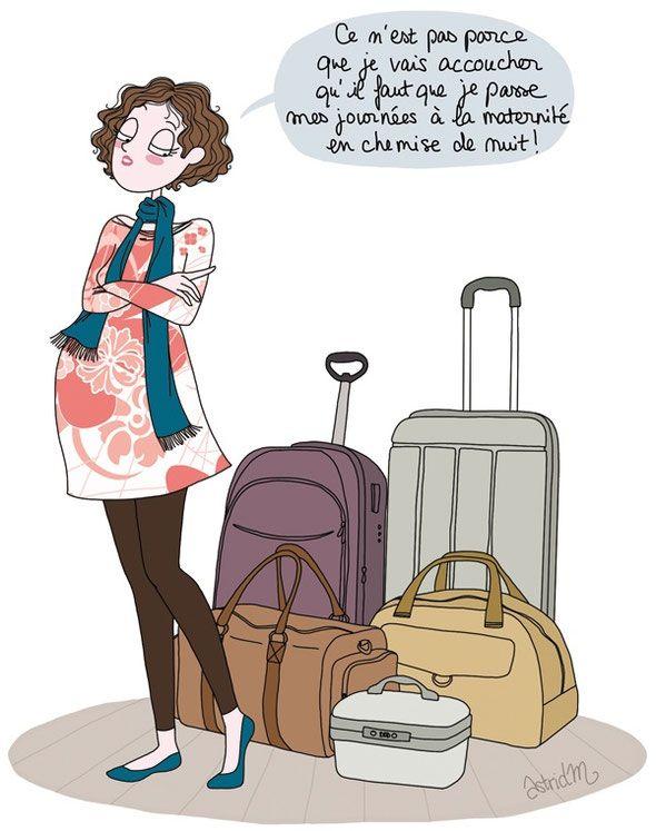 Bien connu valise de naissance - maternité | Actualités & Freeprintable  AZ55