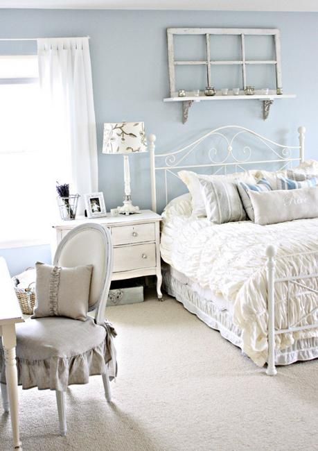 Modern Vintage Chic Bedroom: 25 Shabby Chic Decorating Ideas To Brighten Up Home