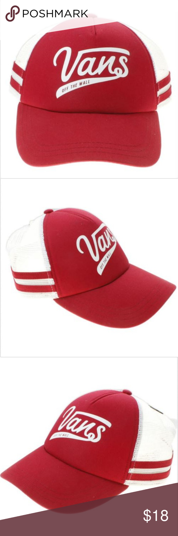 32ee9b40e2 Vans Off The Wall Sport Mesh Trucker Hat Vans Off The Wall Women s OL Sport  Mesh