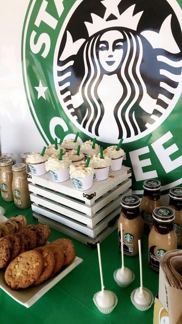 Target party!! Starbucks birthday party, Starbucks party