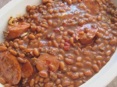Three Meat Baked Beans Recipe Food Com Recipe Three Meat Recipes Baked Bean Recipes