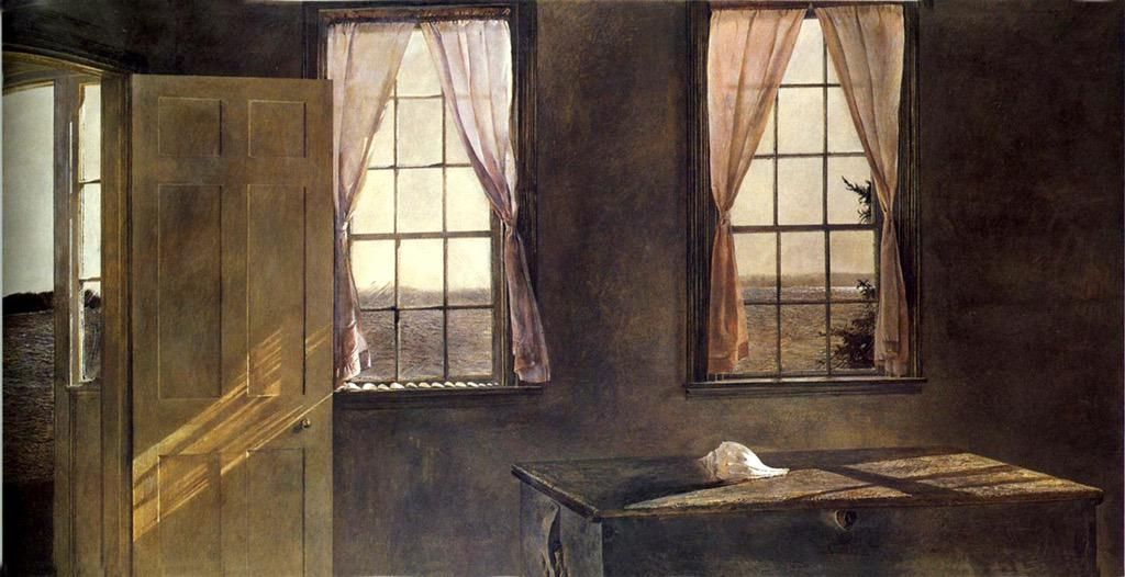 Andrew Wyeth「Her Room」(1963)